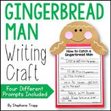 Gingerbread Man Writing Craft
