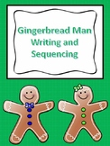Gingerbread Man Writing and Sequencing