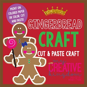 Gingerbread Man and Girl Craft