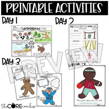 Gingerbread Man & Ninjabread Man: Read-Aloud Compare/Contrast Lesson Plans