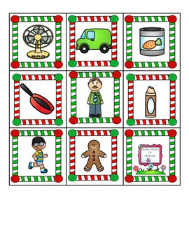 Gingerbread Man -at & -an Word Families