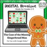 Digital Breakout Escape Room - The Case of the Missing Gingerbread Man (3-5)