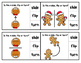 Gingerbread Man on the Move Clip Cards - Slides, Flips, Turns