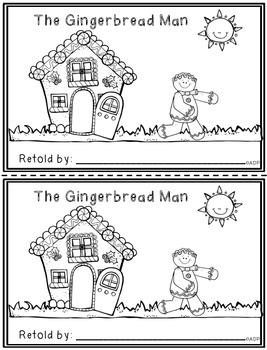 Gingerbread Man retelling book