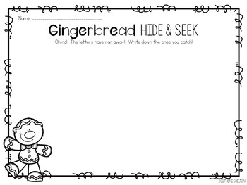 Gingerbread Matching Activities for Toddlers, Preschool, and PreK