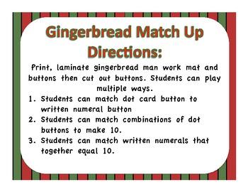 Gingerbread Match Up