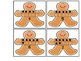 Gingerbread Matching Game-counting practice