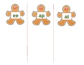 Gingerbread Matching Rhymes