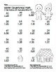 """""""Gingerbread Math"""" 2 Digit Addition Regrouping Common Core"""