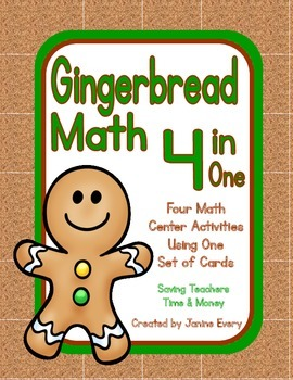 Gingerbread Math:  Number Sense and Basic Facts