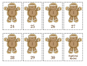 Gingerbread Math Activities - Book, Cards, & More