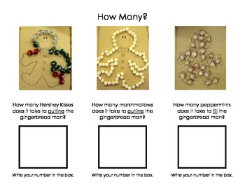 Gingerbread Math Activity