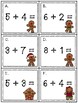 Gingerbread Math Addition Activity Task Cards