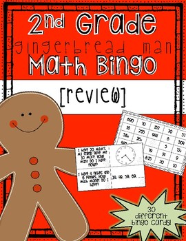 Gingerbread Math Bingo [Review]