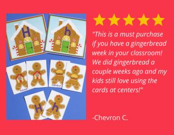 Gingerbread Activities Bundle | Gingerbread Man Math and Literacy Activities