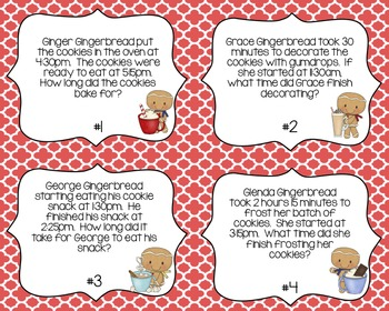 Gingerbread Math  {CCSS Aligned}