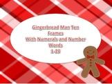Gingerbread Math Center