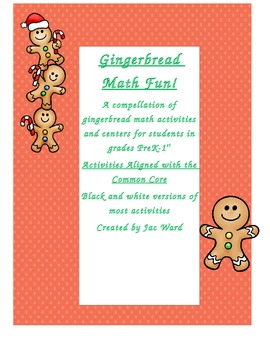 Gingerbread Math Center Activities