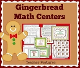 Gingerbread Man Activities FACT FAMILIES, ADDENDS & PROBLEM SOLVING MATH CENTERS