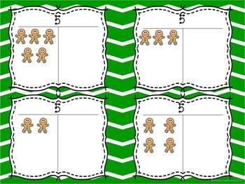 Gingerbread Math Centers Pack