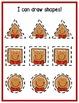 Gingerbread Math Centers: Shapes for Preschool, PreK, &K