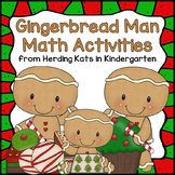 Gingerbread Man Activities: Math Centers
