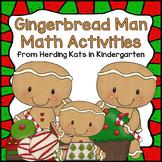 Gingerbread Man Activities: Math Centers