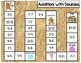 Gingerbread Math Fluency Game Addition with Doubles