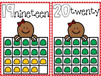 Gingerbread Math Frame