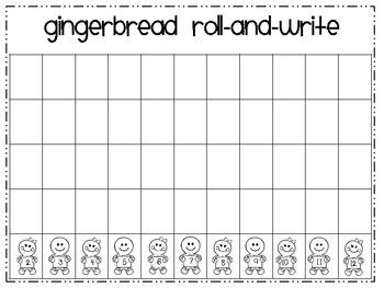 Gingerbread Math Freebie