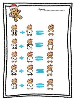Gingerbread Math Fun