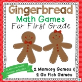 Gingerbread Math Games for Centers