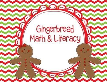 Gingerbread Math & Literacy Activities