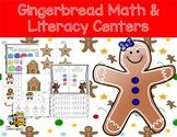 Gingerbread Math & Literacy Pack for Preschool, Prek, and Kindergarten