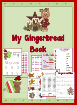 Gingerbread Math & Literacy Printable Packet