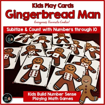 Gingerbread Man Math - Lotto Games