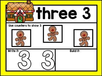Gingerbread Math Mats