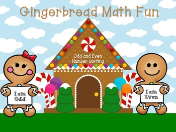 Gingerbread Math (Odd or Even)