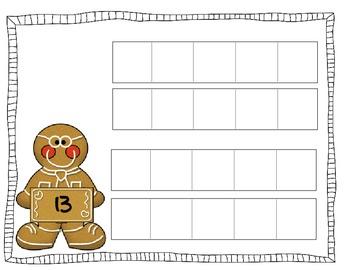 Gingerbread Math Pack