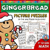 Gingerbread Math Picture Puzzles {1st Grade}