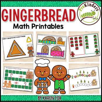 Gingerbread Math Activities Pack