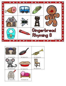 Kindergarten - Special Education-Christmas-Gingerbread Man Workshop