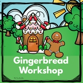 Kindergarten - Special Education-Christmas-Gingerbread Man