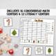 Gingerbread Math and Literacy Center Bundled