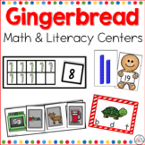 Gingerbread Math and Literacy Center Bundle