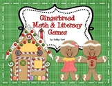 Gingerbread Math and Literacy Games