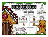 Gingerbread Math and Literacy (writing prompts, label, anc