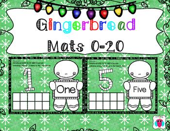 Gingerbread Mats 0-20