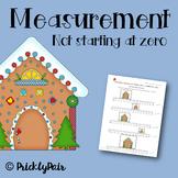 Gingerbread Measurement (Not Starting on Zero)