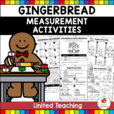 Gingerbread Measurement Math Centers